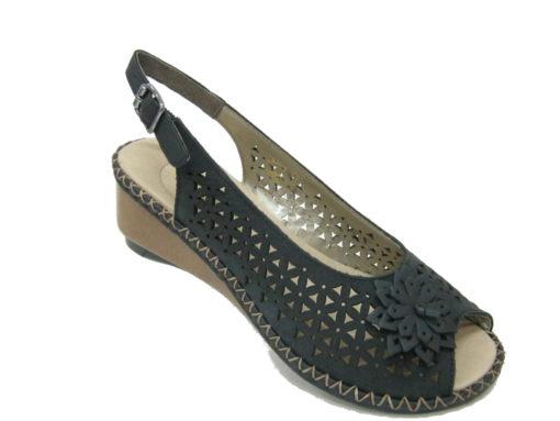 Damskie sandały Rieker, kolor granat