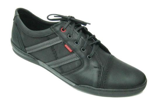 Męskie buty, kolor czarny