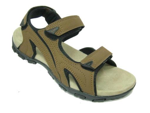Sandały DK kolor brązowy