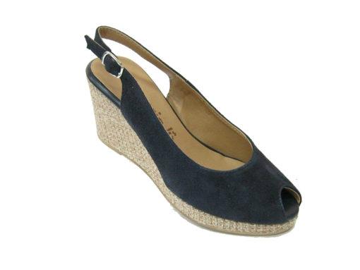 Damskie sandały Tamaris, kolor granatowy