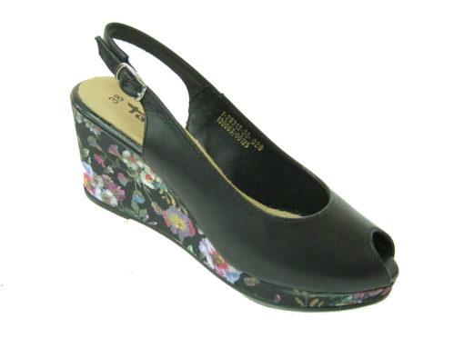Damskie sandały Tamaris, kolor czarny