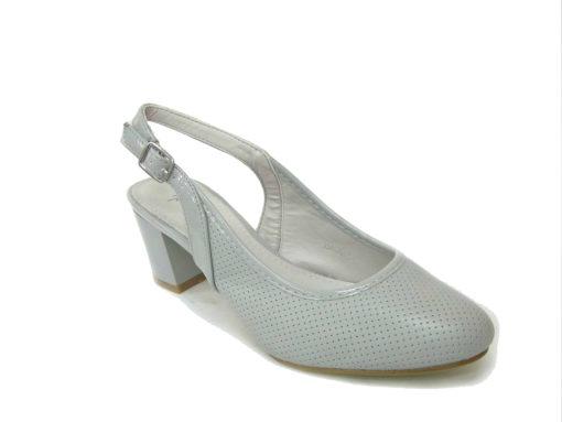 Letnie buty damskie, kolor szary