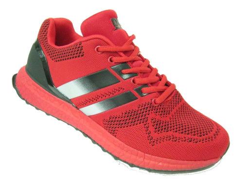 Męskie buty sportowe czerwone DK 1200