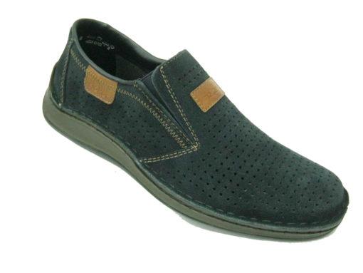 Męskie buty Rieker , kolor granatowy