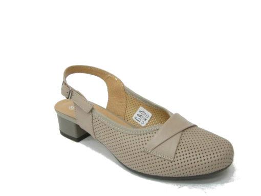Letnie buty Galant , kolor beżowy